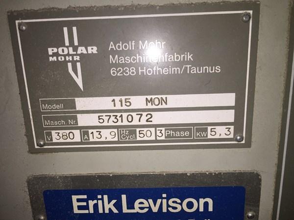 polar 115 paper cutting machine printing machines rh futureprintingmachines com Polar Cutter Polar X Sunglasses