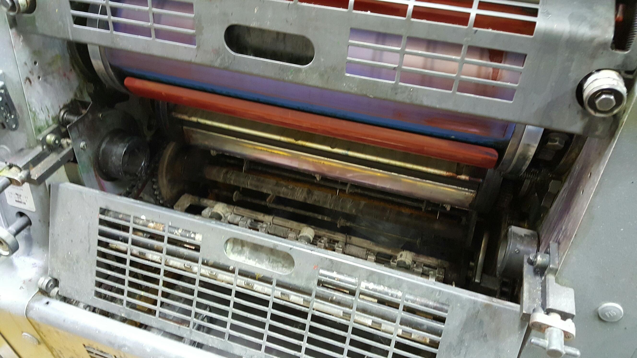 heidelberg single colour offset b j printing machinery