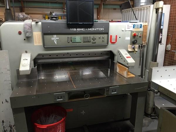 Polar 115 Paper Cutting Machine