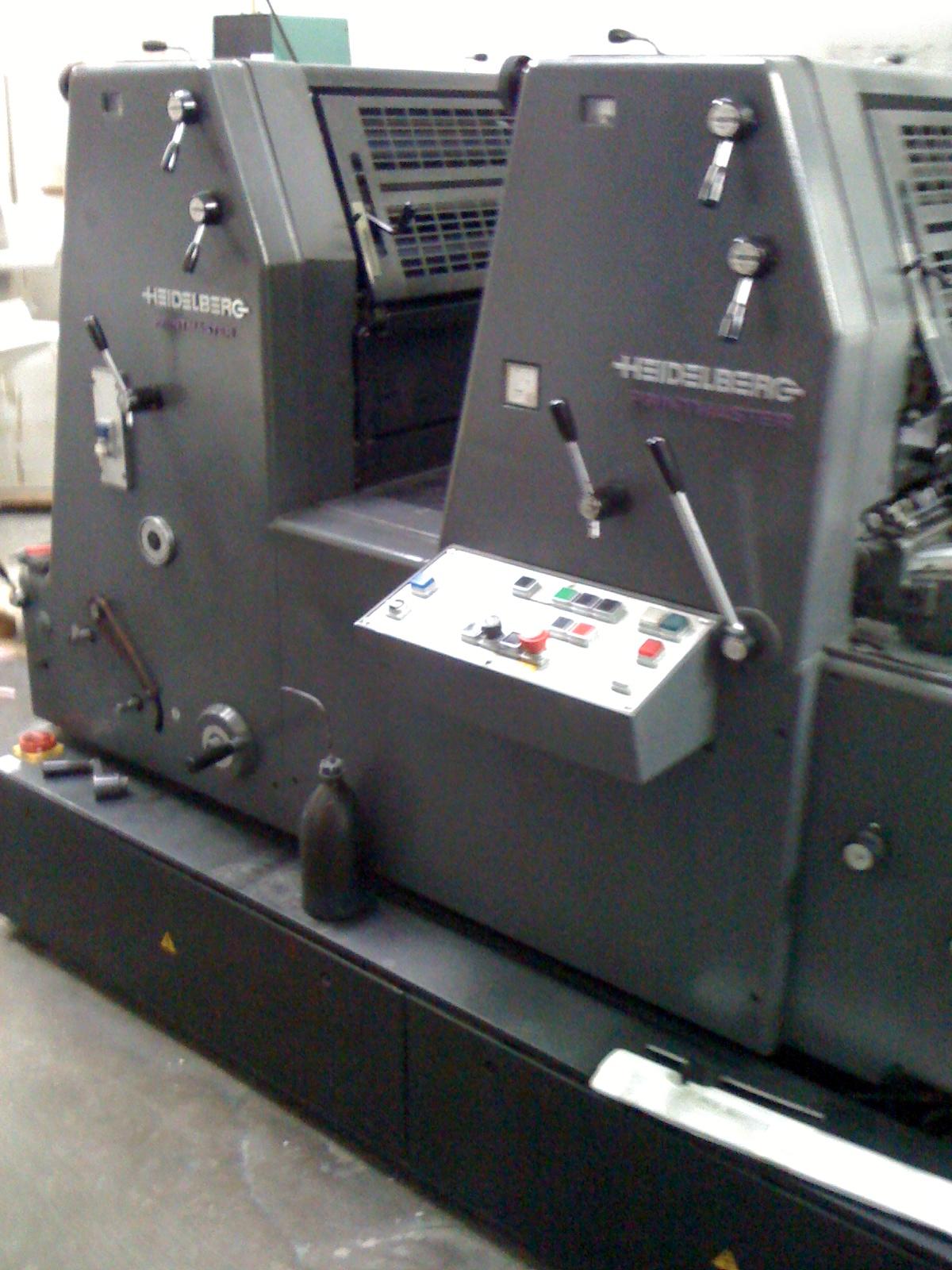 heidelberg gto 52 offset printing machine