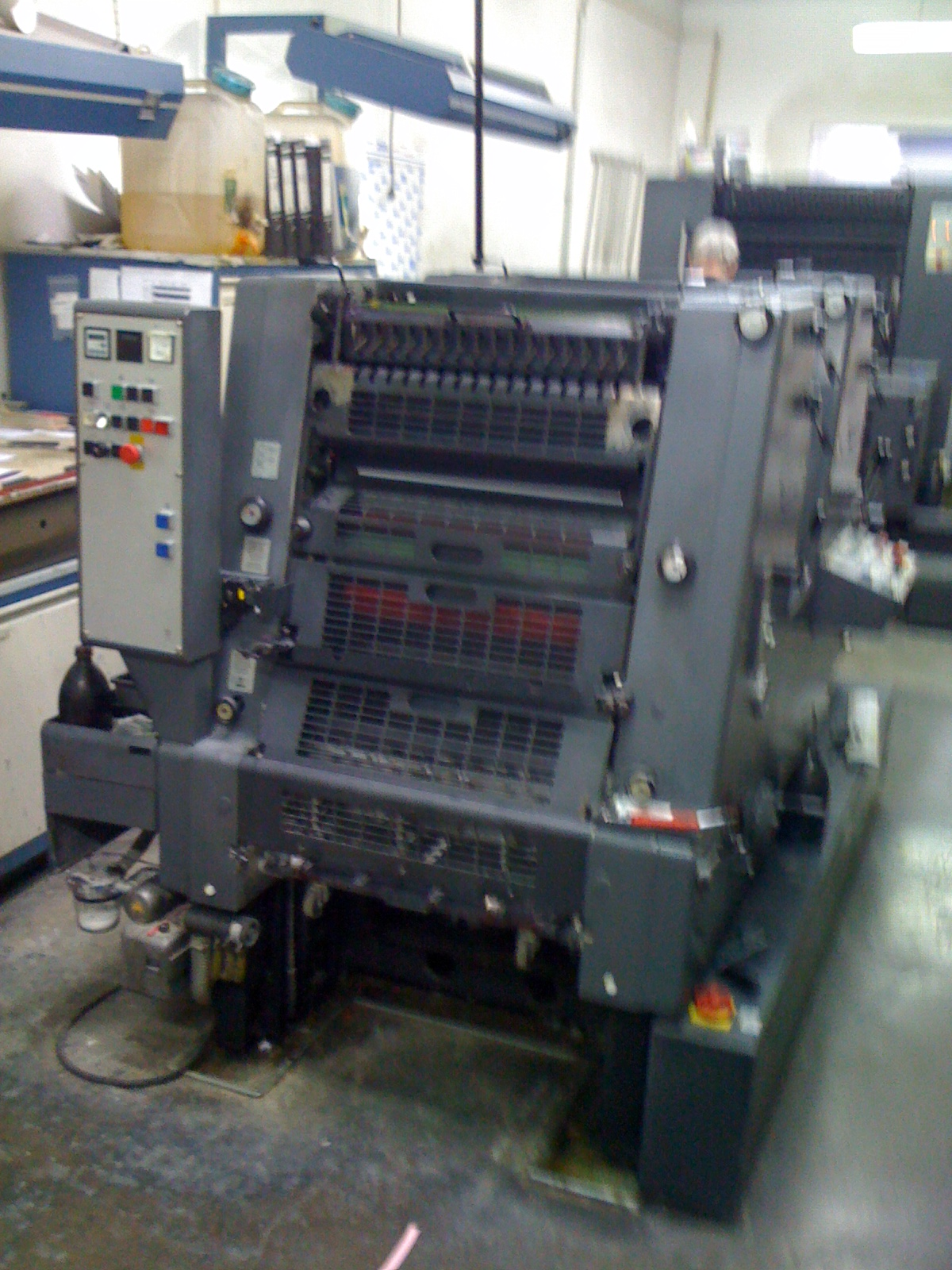 Vehicle Overview; Features & Options; Technical Specifications; Vehicle  Location; Other Comments. Heidelberg GTO 52-2+